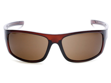 Harley-Davidson Men's Kickstart B&S Sunglasses, Brown Frame & Brown Acrylic Lens - Wisconsin Harley-Davidson