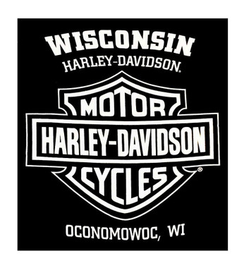 Harley-Davidson Men's Knucklehead Legacy Sleeveless Muscle Tee, Solid Black - Wisconsin Harley-Davidson