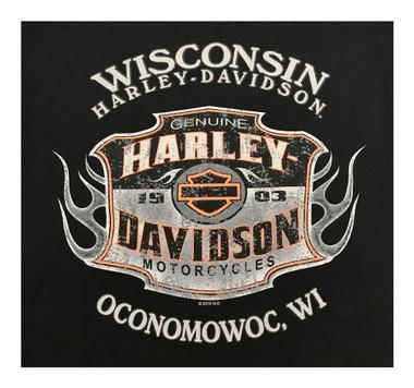 Harley Davidson Dealer Tee and Hoodies Wisconsin Harley