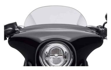 Harley-Davidson Sport Glide 5.5 in. Windshield, Light Smoke Color 57400360 - Wisconsin Harley-Davidson