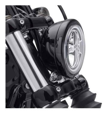 Harley-Davidson 5.75 in. Headlamp Trim Ring, Fits FXBB & FXLR Models 61400574 - Wisconsin Harley-Davidson