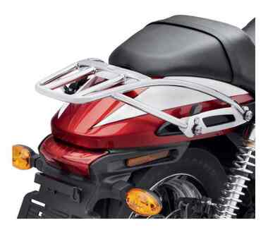 Harley-Davidson Detachable Two-Up Luggage Rack - Chrome, Fits XG Models 50300071 - Wisconsin Harley-Davidson