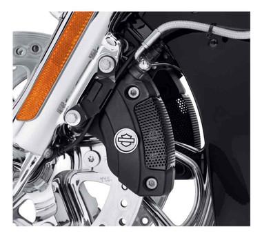Harley-Davidson Caliper Screen Insert - Black, Fits VRSC/Touring/Trike 41300154 - Wisconsin Harley-Davidson