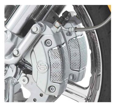 Harley-Davidson Caliper Screen Insert - Chrome, Fits VRSC/Touring/Trike 42054-05 - Wisconsin Harley-Davidson