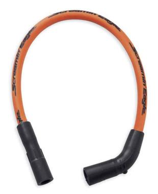 Harley-Davidson Screamin' Eagle 10mm Phat Spark Plug Wires - Orange 31600051A - Wisconsin Harley-Davidson