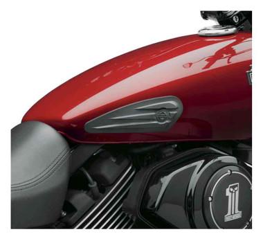 Harley-Davidson Tank Knee Pad Kit-Fit Street, Sportster, Dyna & Softail 57300065 - Wisconsin Harley-Davidson