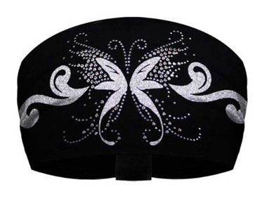 That's A Wrap Women's Rhinestone Accented Angelic Butterfly Knotty Band KB1125S - Wisconsin Harley-Davidson