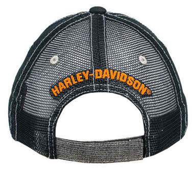 Harley-Davidson Screamin' Eagle Women's Shimmer Baseball Cap, Gray HARLLH0039 - Wisconsin Harley-Davidson