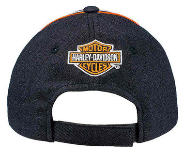 Harley-Davidson Mens Screamin' Eagle Champion Adjustable Baseball Cap HARLMH0327 - Wisconsin Harley-Davidson