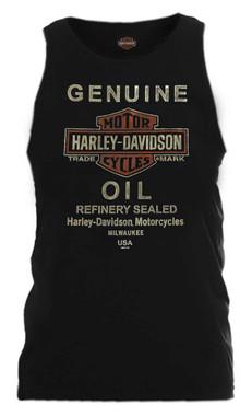 Harley-Davidson Men's Hardcore Legend Sleeveless Muscle Tank, Black 5L30-HE96 - Wisconsin Harley-Davidson