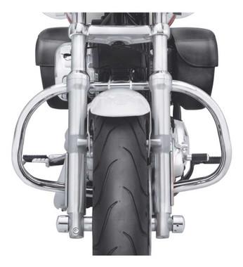 Harley-Davidson Engine Guard Kit - Chrome, Fits XL883L & XL1200T Models 49287-11 - Wisconsin Harley-Davidson