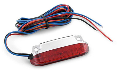 Harley-Davidson Fast-Acting LED Light Kit - Red Lens, Multi-Fit Item 68000076 - Wisconsin Harley-Davidson