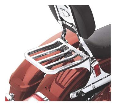 Harley-Davidson Five Bar Sport Luggage Rack - Chrome, Multi-Fit Item 53862-00 - Wisconsin Harley-Davidson