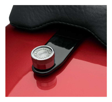 Harley-Davidson Quick-Release Seat Hardware Kit-Chrome, Multi-Fit Item 51676-97A - Wisconsin Harley-Davidson