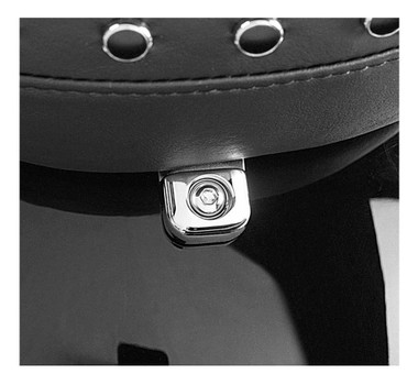 Harley-Davidson Chrome Billet Seat Mounting Bracket, Multi-Fit Item 51804-02 - Wisconsin Harley-Davidson