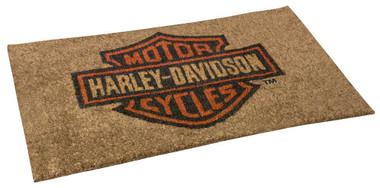 Harley-Davidson Core Bar & Shield Coco Entry Mat, 30 x 18 inches HDX-99104 - Wisconsin Harley-Davidson