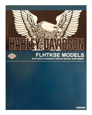 Harley-Davidson 2018 FLHTKSE Supplement Model Motorcycle Service Manual 94000456 - Wisconsin Harley-Davidson