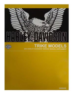 Harley-Davidson 2018 Trike Supplement Models Motorcycle Service Manual 94000458 - Wisconsin Harley-Davidson