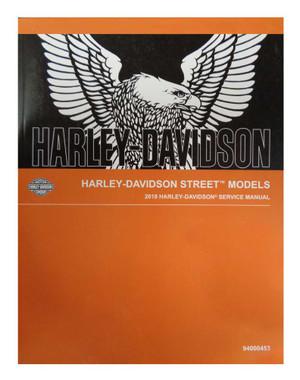 Harley-Davidson 2018 Street Models Motorcycle Service Manual 94000453 - Wisconsin Harley-Davidson