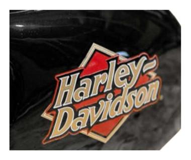 Harley-Davidson Core H-D Logo Ceramic Mini Hog Bank - Gloss Black HDX-99103 - Wisconsin Harley-Davidson