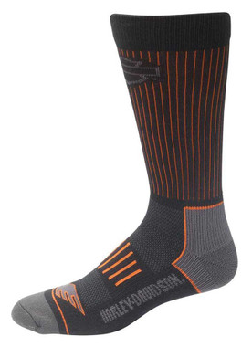 Harley-Davidson Wolverine Men's Compression Coolmax Riding Socks D99219070-001 - Wisconsin Harley-Davidson