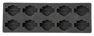Harley-Davidson Core Bar & Shield Silicone Ice Cube Tray, Black HDX-98500 - Wisconsin Harley-Davidson
