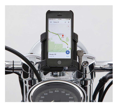 Ciro Premium Smartphone/GPS Holder without Charger -Available in Multiple Mounts - Wisconsin Harley-Davidson