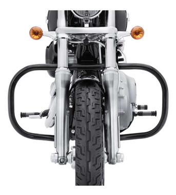 Harley-Davidson Engine Guard Kit - Gloss Black Finish, Multi-Fit Item 49320-09 - Wisconsin Harley-Davidson