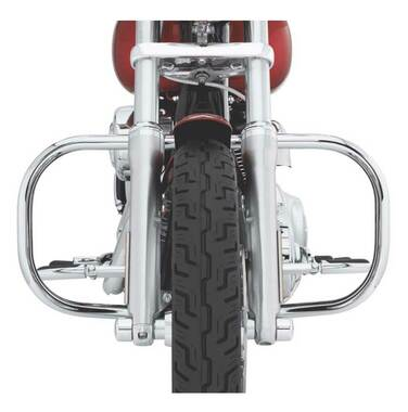 Harley-Davidson Engine Guard Kit - Chrome Finish, Multi-Fit Item 49010-06 - Wisconsin Harley-Davidson