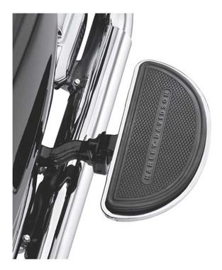 Harley-Davidson Half-Moon Passenger Footboard Pans & Inserts - Chrome 50807-08 - Wisconsin Harley-Davidson