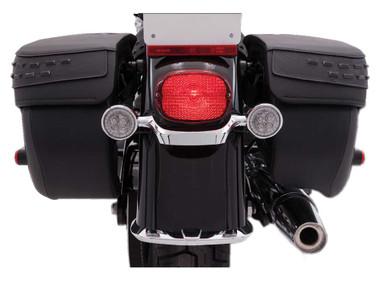 Ciro Fang LED Signal Light Amber Inserts, Multi-Fit Item - Chrome or Black - Wisconsin Harley-Davidson