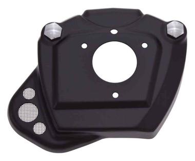 Ciro Throttle Body Servo Cover, Fits 08-16 H-D Touring Models - Black 35130 - Wisconsin Harley-Davidson
