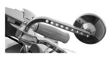 Joker Machine View Tech Billet Mirror, For Harley-Davidson Models 0640-0298 - Wisconsin Harley-Davidson