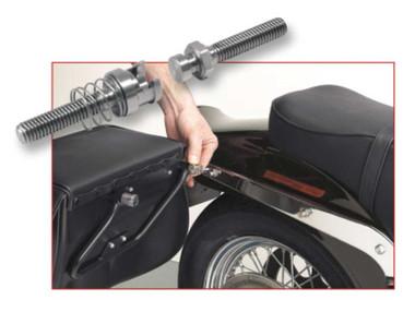 Cycle Visions Stainless Steel Barebacks For Harley-Davidson, Chrome 7807-0036 - Wisconsin Harley-Davidson
