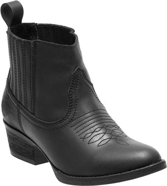 Harley-Davidson Women's Curwood 4.5-Inch Black or Brown Fashion Booties D84313 - Wisconsin Harley-Davidson