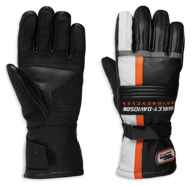 Harley-Davidson Women's Spark Gauntlet Leather Insulated Gloves 98325-19VW - Wisconsin Harley-Davidson