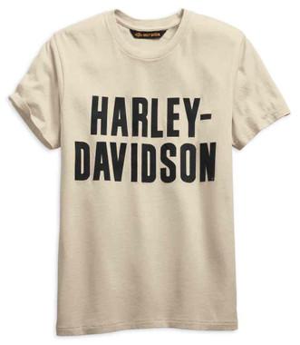 Harley-Davidson Men's Jersey Applique Logo Slim Fit Short Sleeve Tee 99271-19VM - Wisconsin Harley-Davidson