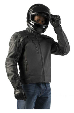 Harley-Davidson Men's FXRG Gratify Slim Coolcore Leather Jacket 98051-19VM - Wisconsin Harley-Davidson