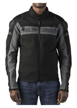 Harley-Davidson Men's FXRG Slim Fit Riding Jacket With Coolcore 98298-19VM - Wisconsin Harley-Davidson