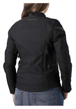 Harley-Davidson Women's FXRG Triple Vent System Riding Jacket, Black 98266-19VW - Wisconsin Harley-Davidson