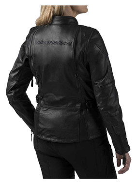 Harley-Davidson Women's FXRG Triple Vent System Leather Jacket 98039-19VW - Wisconsin Harley-Davidson