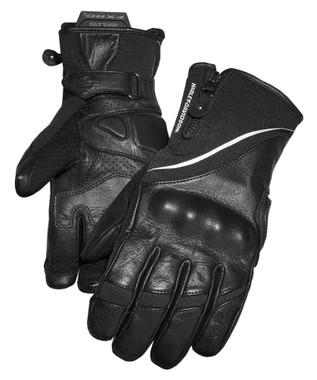 Harley-Davidson Women's FXRG Dual-Chamber Gauntlet Gloves, Black 98272-19VW - Wisconsin Harley-Davidson