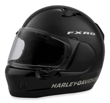 Harley-Davidson Men's FXRG Defiant-X Full-Face Helmet, Gloss Black 98257-19VX - Wisconsin Harley-Davidson
