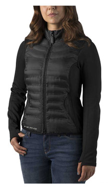 Harley-Davidson Women's FXRG Thinsulate Mid-Layer Jacket, Black 98269-19VW - Wisconsin Harley-Davidson