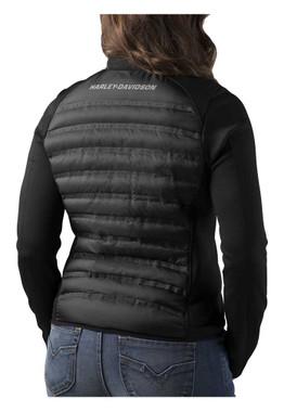 Harley-Davidson Women's FXRG Thinsulate Mid-Layer Jacket, Black 98269-19VW - Wisconsin Harley-Davidson