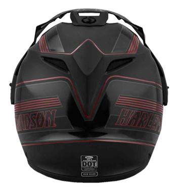 Harley-Davidson Men's Motopolis B15 Full-Face Helmet, Matte Black 98153-18VX - Wisconsin Harley-Davidson