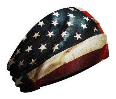 That's A Wrap Unisex Old Glory Flag Knotty Band, Ultra-Soft Performance KB2522 - Wisconsin Harley-Davidson