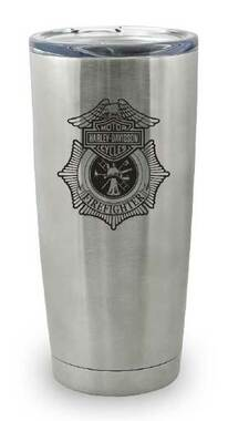 Harley-Davidson Firefighter Original Travel Mug, Stainless Steel - 20oz. MG12650 - Wisconsin Harley-Davidson