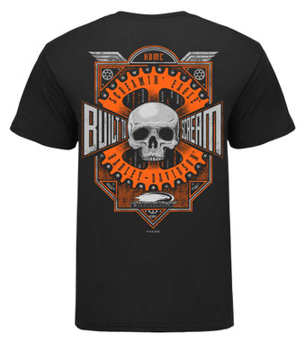 Harley-Davidson Mens Screamin' Eagle Built To Scream Short Sleeve Tee HARLMT0289 - Wisconsin Harley-Davidson