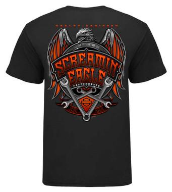 Harley-Davidson Mens Screamin' Eagle Gargoyle Short Sleeve Tee HARLMT0284 - Wisconsin Harley-Davidson